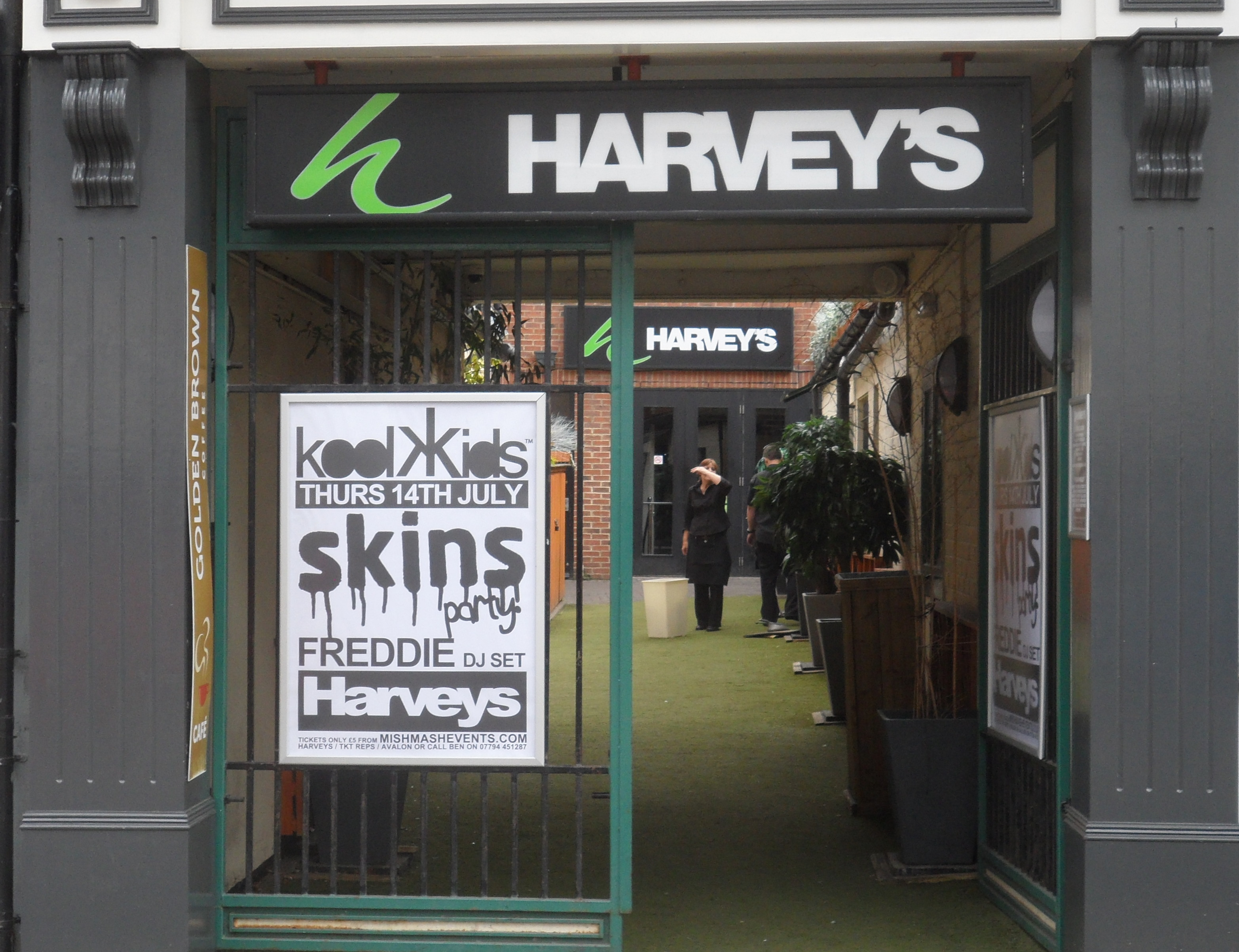 Harveys Bar And Kitchen Menu