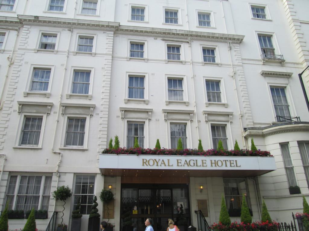 "Royal Eagle Hotel – The site where the film ""Trainspotting"" filmed the drug deal scene"